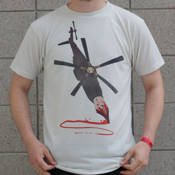 Kalem-o-helikopter Yapıt T-Shirt Search & Destroy