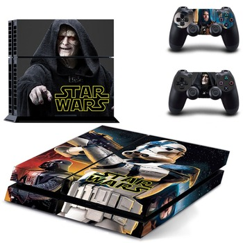 Movie Star Wars PS 4 Sticker Sony PS4 PlayStation 4 için PS4 Cilt ve 2 kontrolör skins